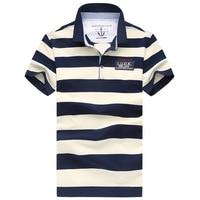 AFS ZDJP Polos Men Cotton Short Sleeve shirt Tipped polo collar Clothes Big Size XXXL Solid jerseys polo shirts for mens