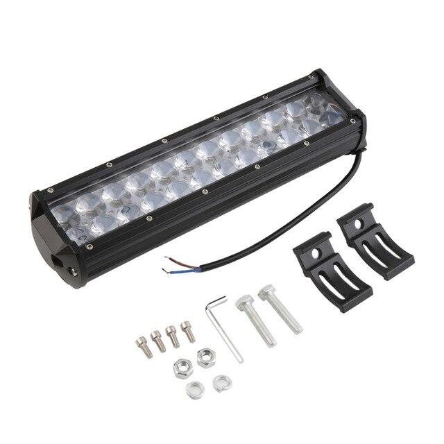 """1pcs 120W 12"""" LED Light Bar Offroad for PHILIPS 4D Led Work Light Bar Spot Beam Driving Lamp for 12v 24v Truck SUV ATV 4x4"""