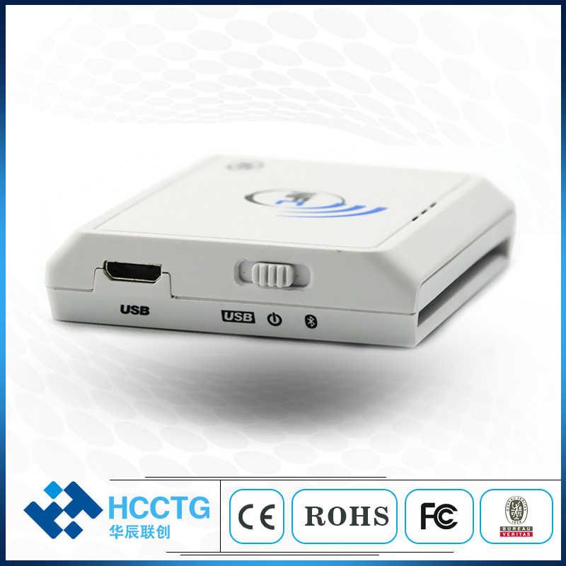 Skimmer de tarjeta bluetooth nfc sin contacto de 13,56 mhz/emulador/lector NFC Bluetooth alimentado por batería -- ACR1311U-N2