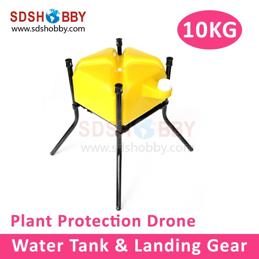 10KG Water Liquid Tank with Landing Gear for Agricultural Plant Protection Drone Multicopter