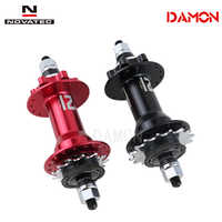 Novatec D256SBT Dirt Jump Single Speed 32 Holes 13 15 16 18T Bicycle Rear Hubs With Sprockets And Lock Nuts Black Red Colors