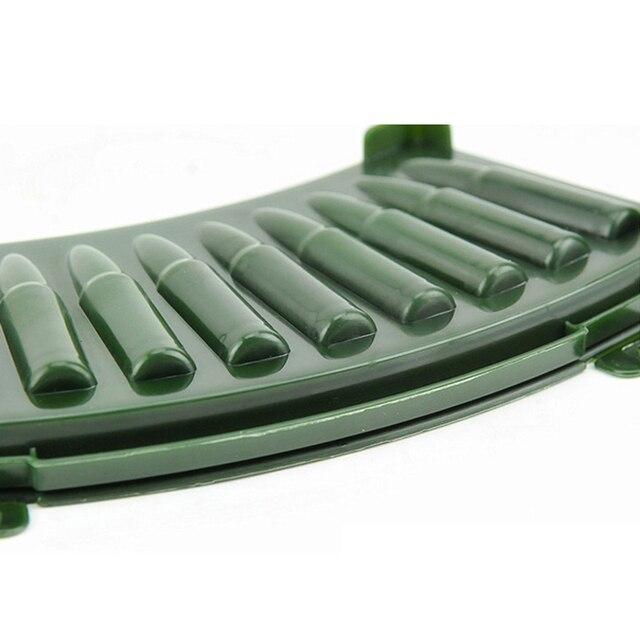 Unique kitchens Plastic Frozen Ice Mold Cube 3D AK 47 Bullets Shape