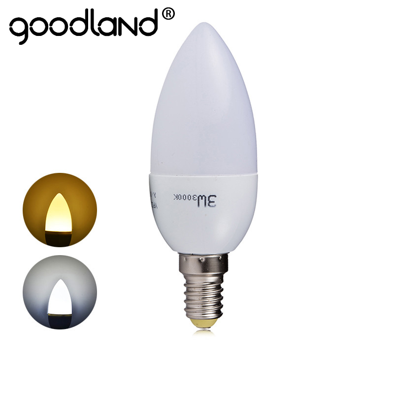 E14 Led Lamp 220V 240V 3W Led Bulb Lights Cold /Warm White Intelligent IC Driver Crystal Light C37 LED Candle Bulb