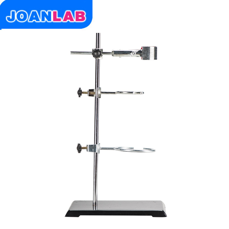 1 Set 50CM High Retort Stand Iron Stand With Clamp Clip Laboratory Ring Stand School Education Supplies Educational Equipment