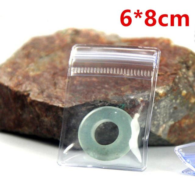 6 8cm Clear Self Sealing Zip Lock Anti Oxidation Plastic Ng Bag Pvc Jewelry