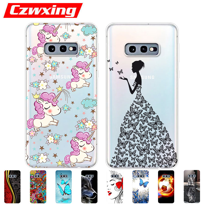 For <font><b>Samsung</b></font> Galaxy S10e Case S <font><b>10e</b></font> Case Silicone TPU Back Cover Phone Case On For <font><b>Samsung</b></font> S10e G970F G970 SM-M970F Case Soft image