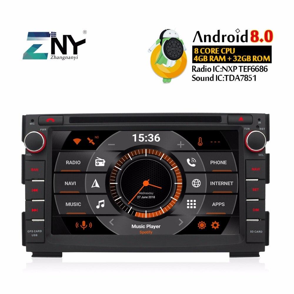 Android 8.0 Car DVD Multimedia Stereo For Kia Ceed 2009-2012 Venga 7 IPS Display Auto Radio 2 Din GPS Navigation Video Headunit