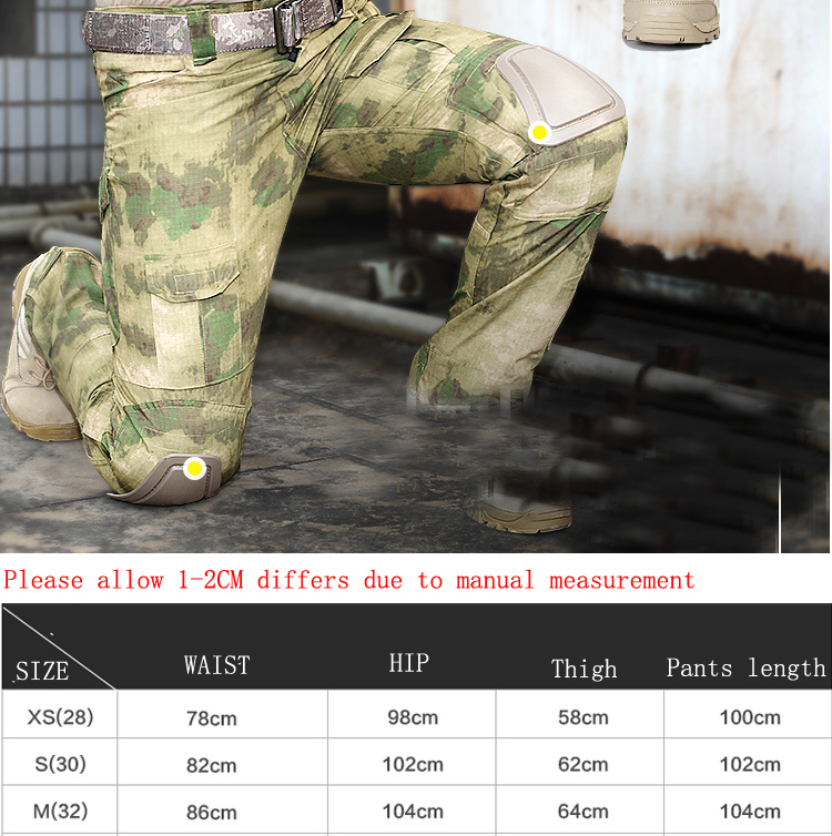 Knee Pads Tactical Cargo Pants