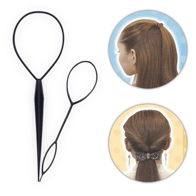 topsy hair braid ponytail maker styling tool hairstyle creator loop hair 4968