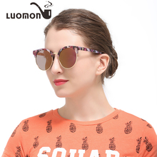 416d0125e9 LUOMON Colorful Floral Frame Polarized Sunglasses Women Classic Outdoor  Driving