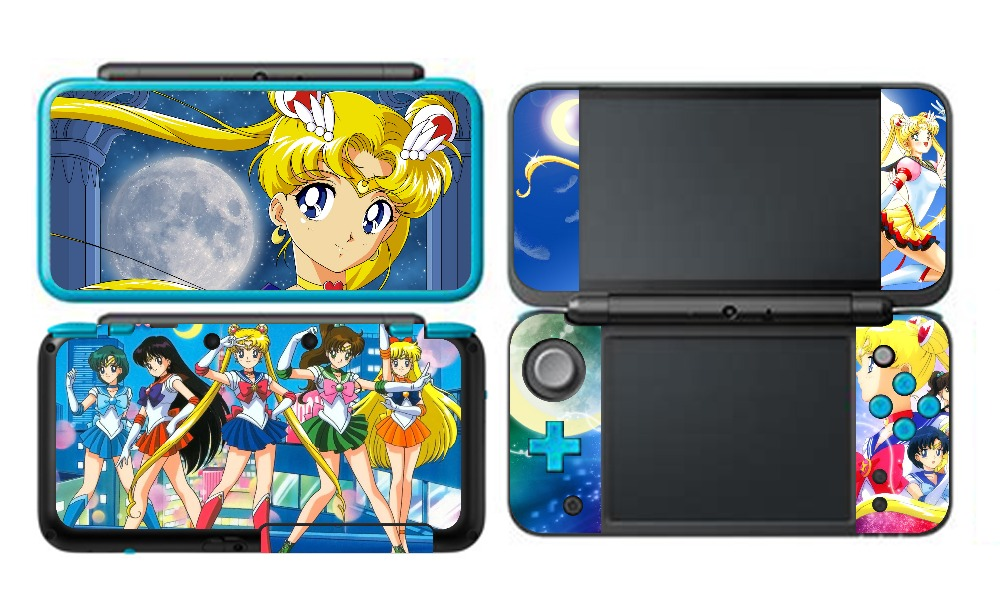 Nice Sony Ps4 Pro Skin Decal Sticker Vinyl Wrap Sailor Moon Pretty Guardian Faceplates, Decals & Stickers
