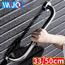IWJOO Bathroom Safety Grab Bar for Elderly Stainless Steel Wall Mount Toilet shower Handrails Disabled Support Handles Towel Bar elderly bathroom toilet handrail disabled barrier sitting handrail pregnant woman safe handrail