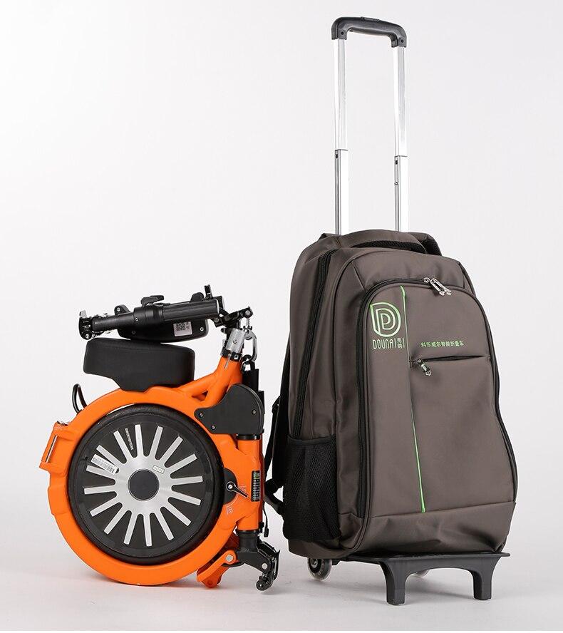 Pocket, K1 rod bag folding electric car accessories original backpack bag waterproof receive big bags