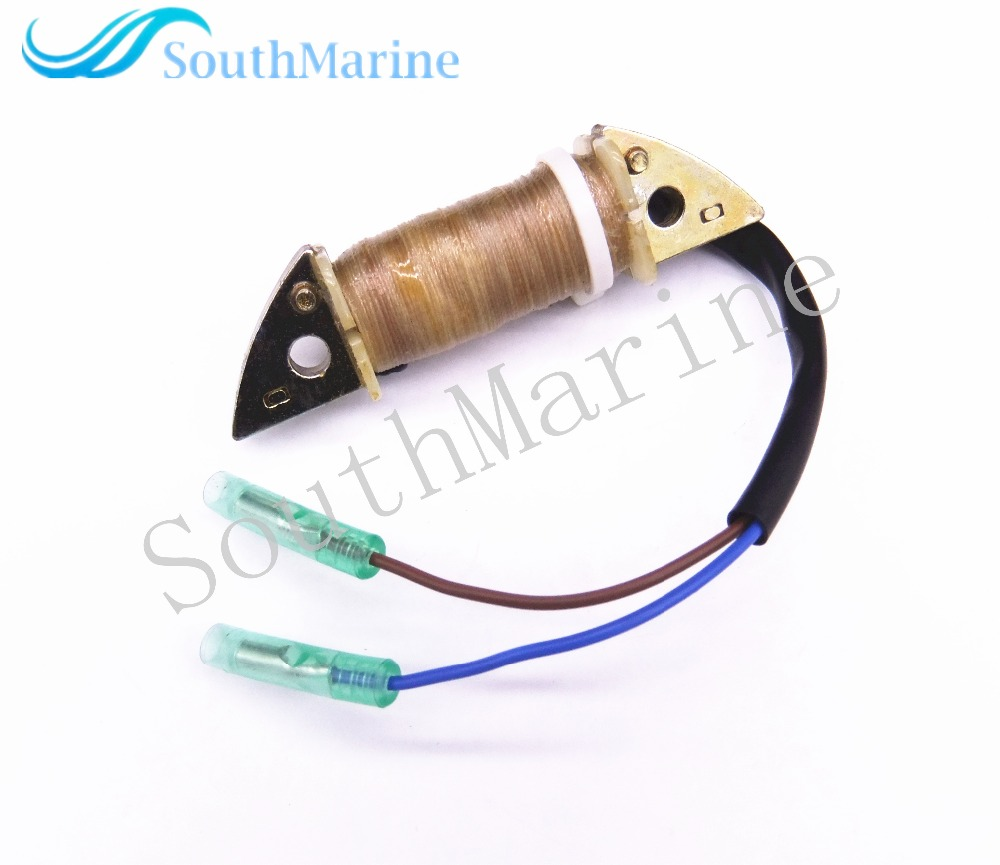 Outboard Engine 63V-85520-01 63V-85520-00 Charge Coil For Yamaha 9.9HP 15HP 2-Stroke 1996-2009