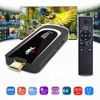 H96 Pro 4K Tv Stick Android 7 1 OS Amlogic S905X Quad Core 2G 16G Mini