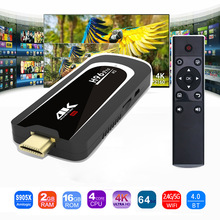 H96 Pro 4K Tv Stick Android 7.1 Besturingssysteem Amlogic S905X Quad Core 2G 16G Mini PC 2.4G 5G Wifi BT4.0 1080P HD Miracast TV dongle H96Pro