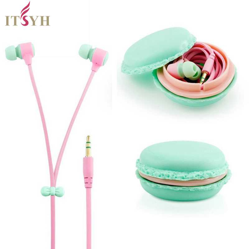 Jelly Color in-ear music Earphones no mircrophone Macarons design wired earphone for girls cellphone MP3 MP4 laptop game TW-771