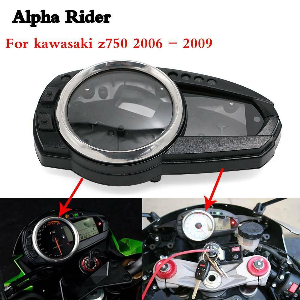 Moto compteur de vitesse horloge Instrument cas jauges tachymètre boîtier boîte couverture pour KAWASAKI Z750 Z1000 Z 1000 2007 2008 2009
