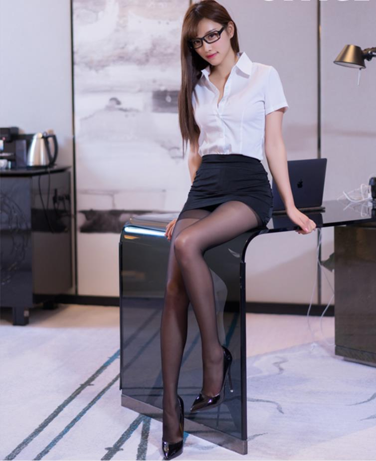 hot short skirt office lady