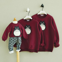 2016 Spring And Autumn Family Clothing Spring Couples Clothing Dad Mon Kids Long Sleeved T Shirt