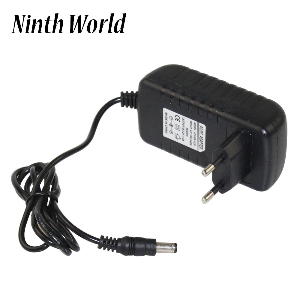 <font><b>12V</b></font> 2A AC 100V-240V Converter <font><b>Adapter</b></font> DC <font><b>12V</b></font> 2A <font><b>2000mA</b></font> <font><b>Power</b></font> Supply EU UK AU US Plug 5.5mm X 2.1mm For CCTV IP Camera image