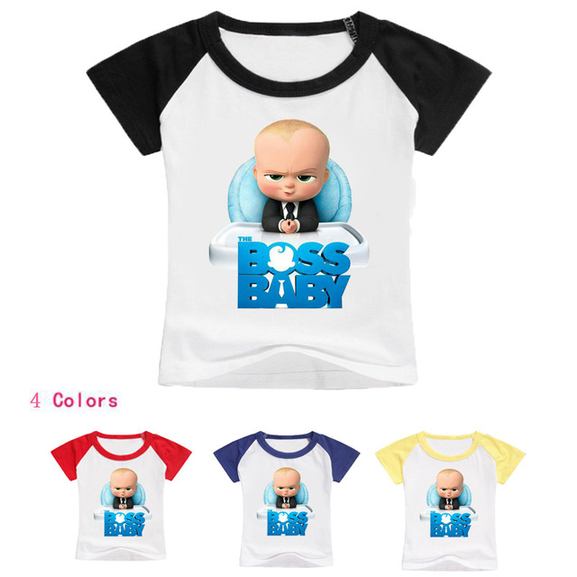 ea963f92b69e 2 12 Years Bobo choses 2018 The Boss Baby T shirt Girl Shirts Baby Boy  Summer Clothes Easter Basket Kids T shirt for Teens-in T-Shirts from Mother    Kids on ...