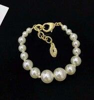 Jewelry Best Friends Gift For Children C Brand Pearl Bracelet Women Geometric Charms Bracelet For Women
