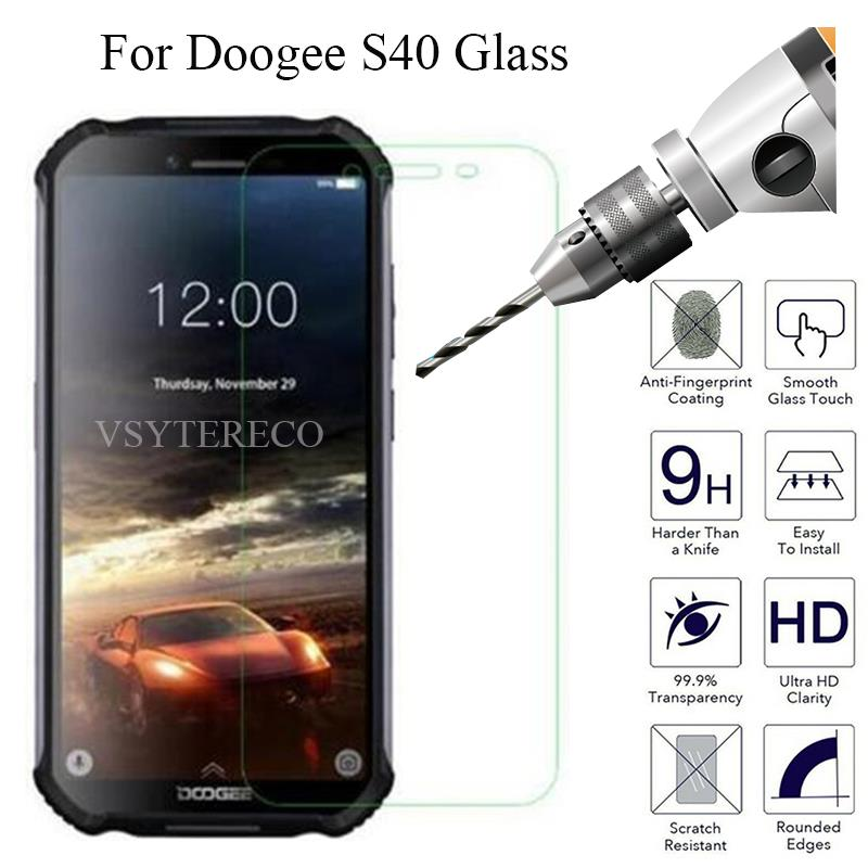 Tempered Glass For Doogee S40 Screen Protector cover Explosion-proof Mobile phone Film For Doogee S40 Case(China)