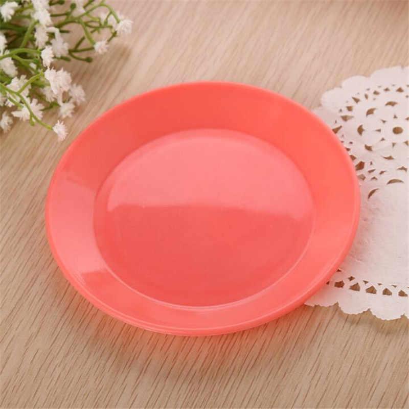 Feigo 1 pc 디너 플레이트 다채로운 식기 과일 접시 식품 학년 플라스틱 접시 스낵 접시 주방 용품 접시 접시 f511