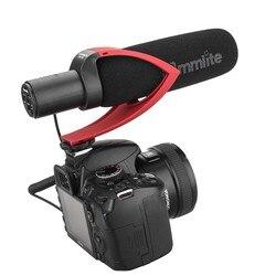 Commlite CVM-V30-R CoMica Directional Condenser Shotgun Video Microphone Red