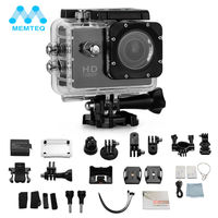 MEMTEQ Action Video Camera SJ4000 FULL HD Camera 12MP Waterproof 1080P 30M Sport Mini DV Video