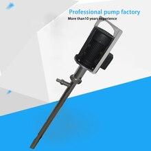 1100W 380v 50hz 316 Stainless steel Highly viscous Mucus Plug Barrel Pump