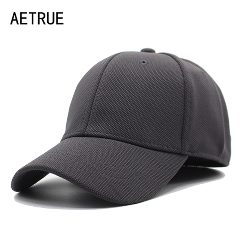 AETRUE Baseball Caps Men Women Snapback Cap Casquette Bone Hats For Men Female Fashion Plain Flat Male Cotton Baseball Hat Cap aetrue winter knitted hat beanie men scarf skullies beanies winter hats for women men caps gorras bonnet mask brand hats 2018