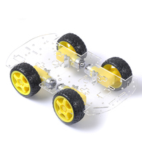WIFI Wireless Smart Car Chassis Suspension Shock Absorber Damping Investigation Robot Chassis Brazil