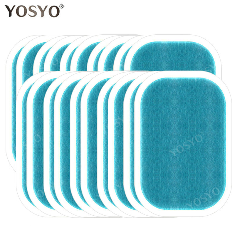 1/3/5/10Pair Replacement Gel Pads For EMS Abdominal Muscle Trainer Pad Weight Loss Abdominal Muscle Stimulator  Gel Pad