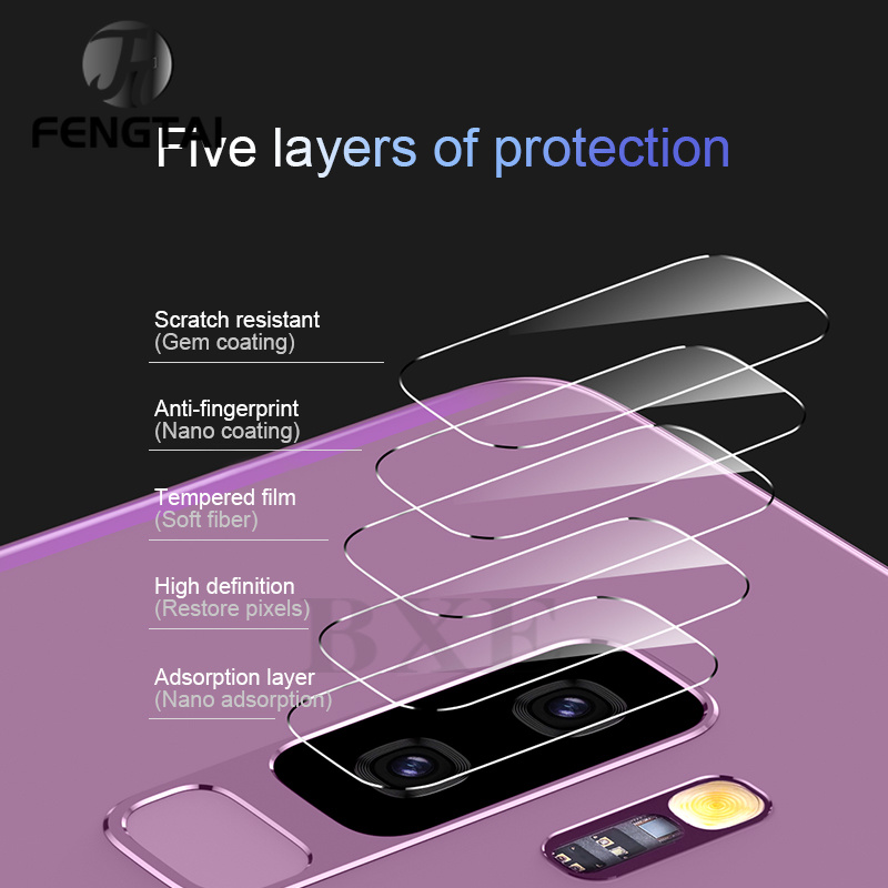 Camera Lens For Samsung Galaxy S8 S9 S10 Plus Screen Protector Samsung/Galaxy S8 S10 Lite/plus Note 8/9 Screen Protector Glass