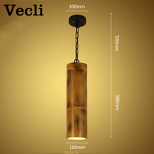 Retro loft chandelier creative bamboo corridor aisle bar restaurant cafe light bedroom porch industrial lamparas pendant lamp a1 the bird creative pastoral style porch corridor aisle lights european bedroom windows small restaurant balcony pendant lig