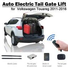 Автоматический Электрический хвост ворота лифт для Volkswagen Touareg 2011-2016 пульт дистанционного управления привод сиденье кнопка управления Набор высота избежать Pinch