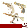 Educational 3D Puzzle Military Pistol Model Toys Wholesale Wooden Toys Toys For Children 3d Wooden Puzzles For Children