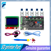 MKS Gen V1.4 3D printer kit with MKS Gen V1.4 RepRap board +TMC2100 /TMC2130/TMC2208/DRV8825/A4988+12864 Graphic LCD