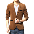 2016 New Mens Blazer Suits Jacket For Men Top Quality Blazers Slim Fit Woolen Outwear Coat Costume  Blazer Men Free Shipping