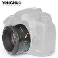 YONGNUO YN 50MM F1.8 Large Aperture Auto Focus Lens For Canon EF Mount EOS Camera(China)