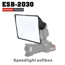 Linkstar ESB2030 Portable Foldable Flash Diffuser Softbox for Canon Nikon Sony DSLR flash Speedlite Photo Studio Accessories