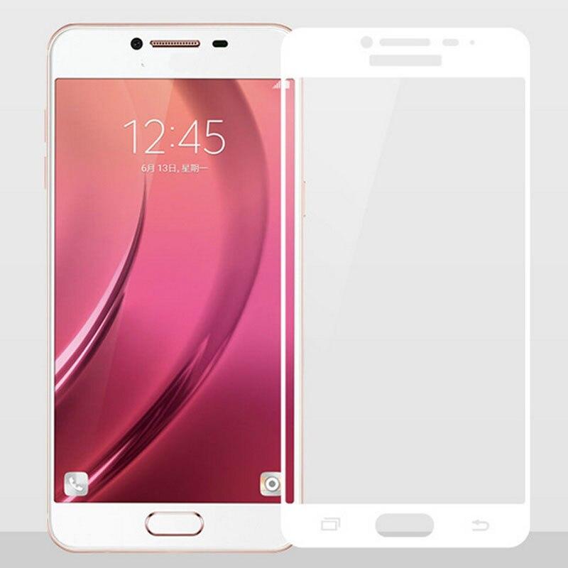 GerTong Penuh Penutup Kaca Tempered Untuk Samsung Galaxy A3 A5 A7 A7 - Aksesori dan suku cadang ponsel - Foto 4