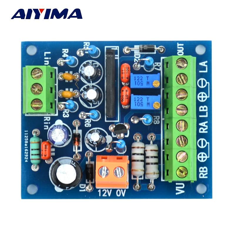 Aiyima 12V Power Amplifier VU Meter Driver Board DB Audio Level Meter for TA7318P DENON