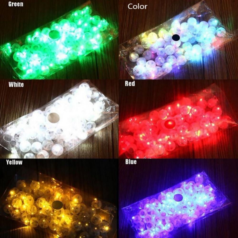 10pcs LED flash luminous Lamps Switch balloon tumbler light Bar lantern Christmas wedding party decoration 2018 hot sell