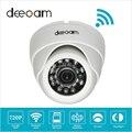 Deecam Крытый Камера Ночного Видения P2P Облако Телефон Зрения CCTV Дома Камеры безопасности IP Cam 720 P Беспроводной Купольная Камера Де Segurança