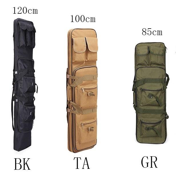 85 100 120 cm de alta densidade nailon caso rifle saco tatico militar tatico longo saco