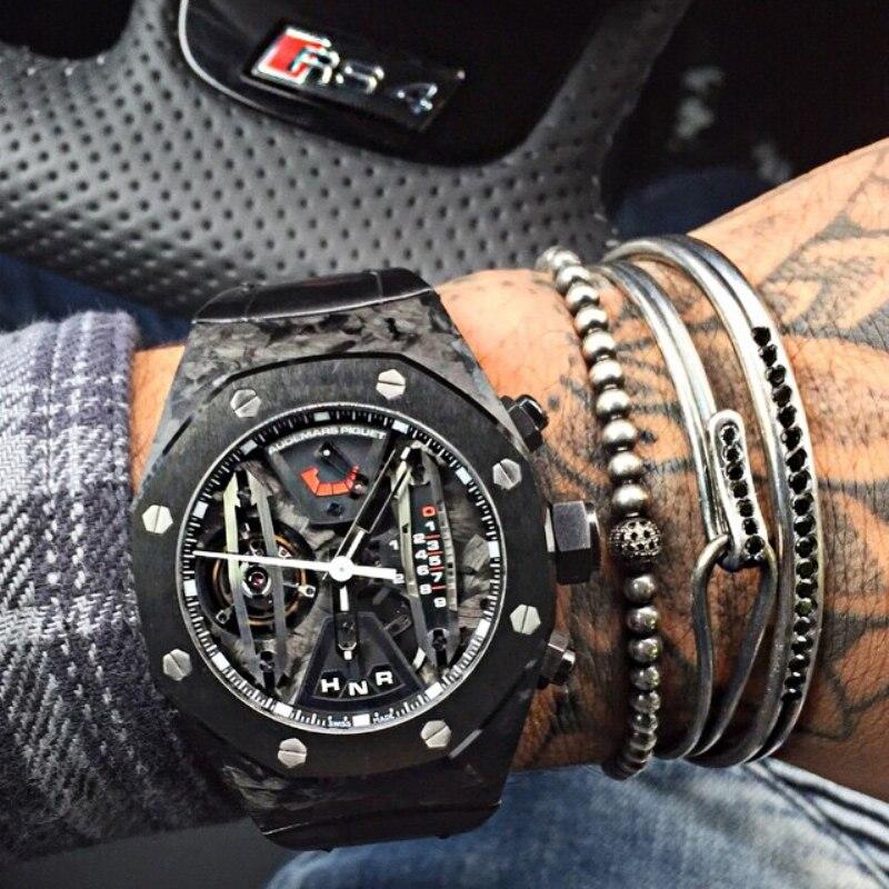 Prix pour Mcilroy Noir Gun Tone Ouvrir Manchette Hommes Bracelet Bracelets Nouveau Hommes Bijoux Or/Argent/Noir/Or Rose Cool Zircon Manchette Bracelets