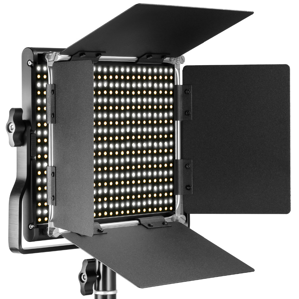 Neewer Professional Metal Bi color LED Video Light for Studio YouTube Product Photography Video Shooting Durable Metal Frame